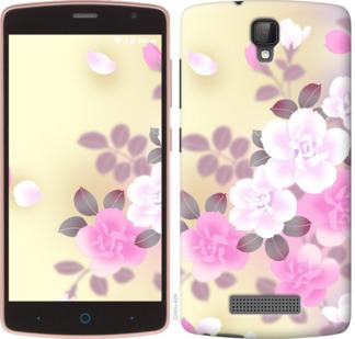 Чехол на ZTE L5 Японские цветы