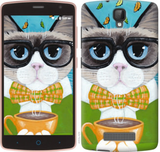 Чехол на ZTE L5 CatandCoffee