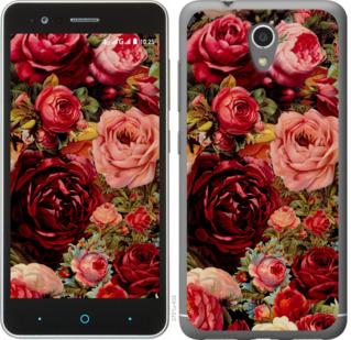 Чехол на ZTE A510 Цветущие розы