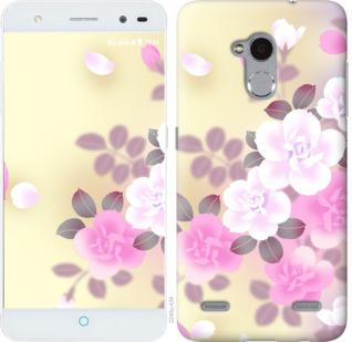 Чехол на ZTE V7 Lite Японские цветы