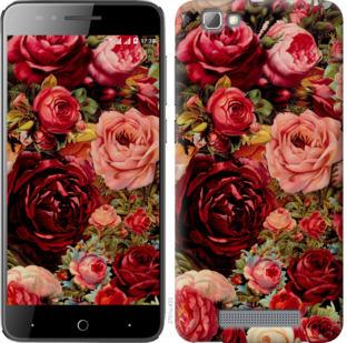 Чехол на ZTE A610 Цветущие розы